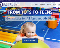 Rettig's Gymnastics Launches New Website